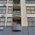 Voorgevel, detail balkonnen - Amsterdam - 20357065 - RCE.jpg