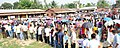 Voters wait in queues to cast their votes, at a polling booth, during the 2nd phase of Assam Assembly Election, at Maidamgaon, Bakarapara, Basistha, in Kamrup district on April 11, 2016 (1).jpg