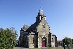 Vrizy - Église Saint-Maurice de Vrizy - Photo Francis Neuvens lesardennesvuesdusol.fotoloft.fr.JPG