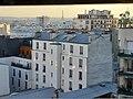 Vue de la tour Eiffel depuis le 19e arrondissement .jpg