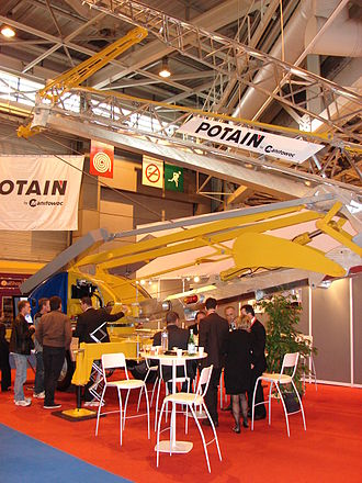 The Manitowoc Company - Potain at Reed Exhibitions event Batimat in Villepinte near Paris