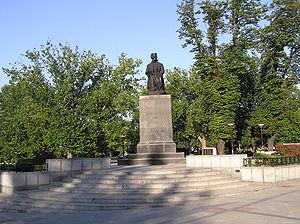 Vuk Karadžić - Monument to Vuk Karadžić, Belgrade.