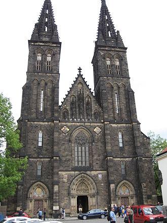 Vyšehrad - Image: Vysehrad Kapitulni chram sv. Petra a Pavla