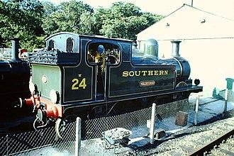 LSWR O2 Class W24 Calbourne - Image: W24 (30738776996)