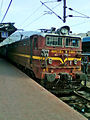WAG5 Series Loco with Machilipatnam Passenger at Visakhapatnam.jpg