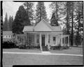 WEST FRONT - Wawona Hotel, Little White, Wawona, Mariposa County, CA HABS CAL,22-WAWO,1-C-1.tif