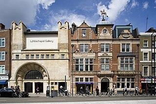 Whitechapel Gallery art gallery in London