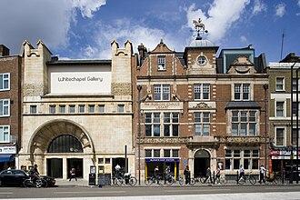 Whitechapel Gallery - Image: W Gfacade 2