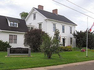 William Steeves - The William Henry Steeves House in Hillsborough, New Brunswick. It is now a museum.