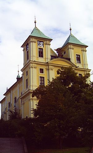 Litvínov - Saint Michael's church, Litvínov
