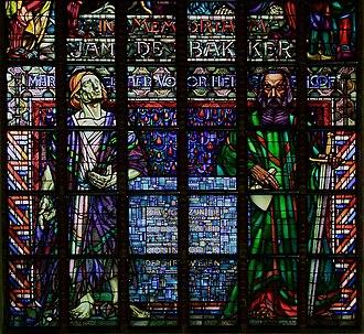 Grote of Sint-Jacobskerk (The Hague) - Image: WLM roel 1943 Grote kerk