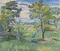 Waldemar Rösler - Landschaft mit Akazien - BG-M 6608-93 - Berlinische Galerie.jpg