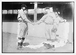 Wally Pipp - Pipp (left) and Charlie Mullen (right)