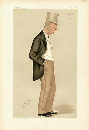"Sir Walter Barttelot, 1st Baronet - ""one of those""; Caricature by Spy published in Vanity Fair in 1886"