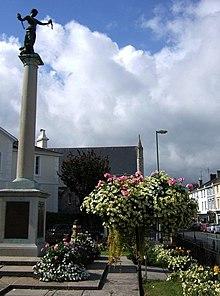 War memorial in Newton Abbot