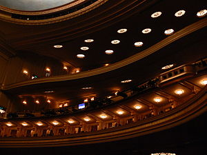 English: War Memorial Opera House, San Francis...