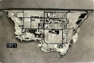 Ward Island (Texas) - Ward Island in 1971