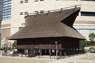 Kofun period - Reconstructed Kofun-era warehouse