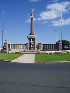 Le mémorial de Warrnambool