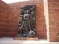 Warsaw Ghetto Uprising Monument2.JPG