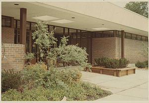 Washburn Library - Washburn Library soon after opening in 1970