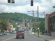 Waterbury street view