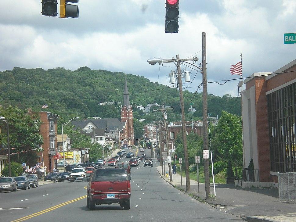 Waterbury street view