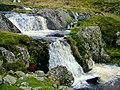 Waterfall on Afon Goch - geograph.org.uk - 606203.jpg