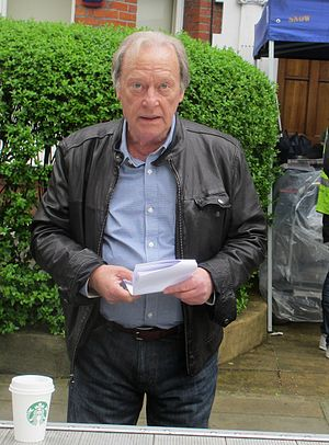 Dennis Waterman - Waterman filming New Tricks in Battersea, London 2012