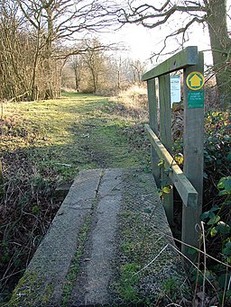 Way in to Whisby Nature Park - geograph.org.uk - 684262