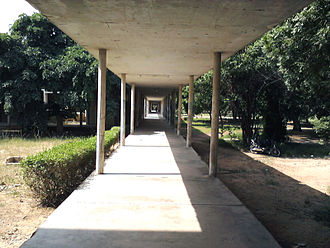 University of Karachi - Way to Arts Lobby