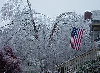 North Carolina ice storm of 2002