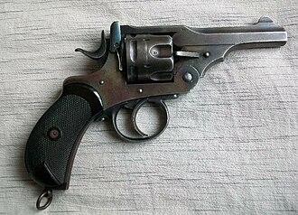 Webley Revolver - Image: Webley Mk I P0