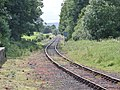 Wensley's old railway station, Wensleydale Railway, North Yorkshire, England.jpg