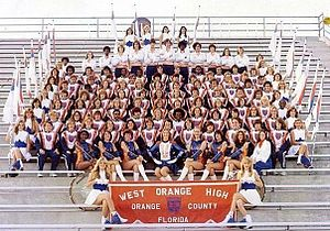 West Orange High School (Florida) - West Orange High School Band 1978