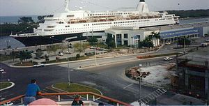 MS Westerdam - The second ship to have been named ''Westerdam'' at Fort Lauderdale, Florida.