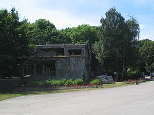Westerplatte - Image: Westerplatte barrack