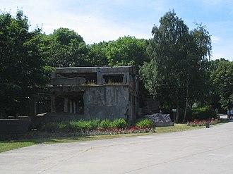 Westerplatte - Image: Westerplatte barrack