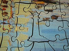 A Whimsy Piece In Wooden Jigsaw Puzzle
