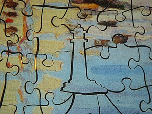 """A """"whimsy"""" from a nautical-themed wo..."""