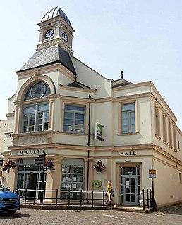 Whitehaven coastal town and port, Cumbria, England
