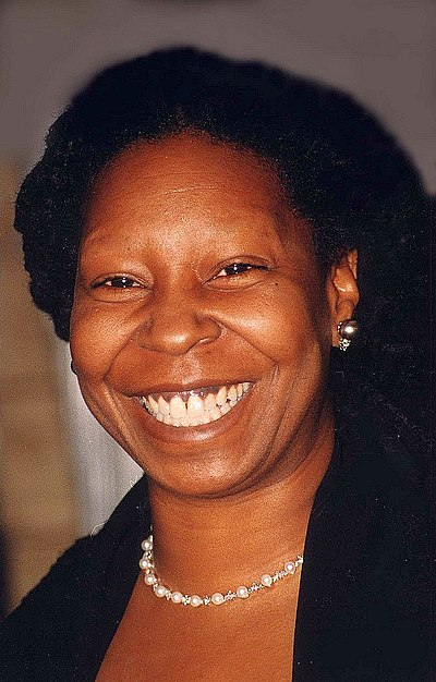 Whoopi Goldberg, American actor