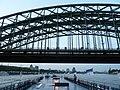 WikiCon 2014-Köln gesehen vom Rhein (3).JPG