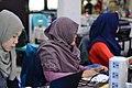 WikiLatih writing session in Sundanese Wikipedia (Wiki Sabanda II) 04.jpg