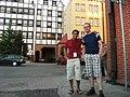 Wikimania 2010 - Jon and Waldir.jpg