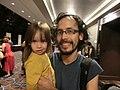 Wikimania 2017 by Deryck day 0 - 11 David and Erin.jpg