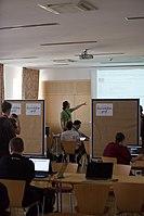 Wikimedia Hackathon Vienna 2017-05-19 Hacking Gurkerl 015.jpg