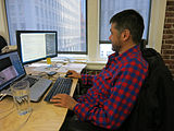 Wikimedia Multimedia Team - January 2014 - Photo 16.jpg