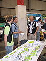 Wikimedia booth at Maker Faire 6.jpg