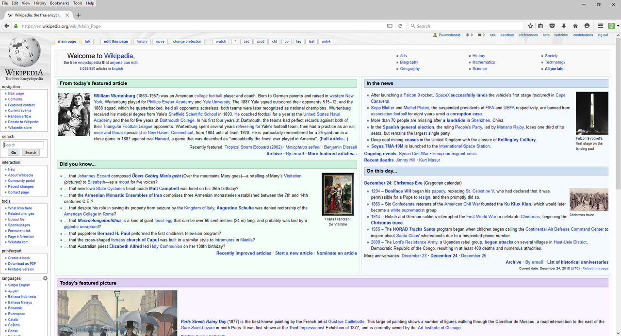 File:Wikipedia Main Page December 23, 2015.png